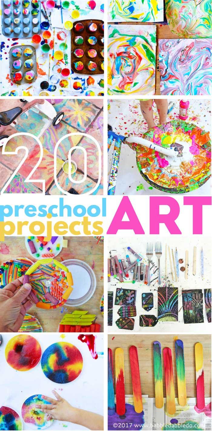 Preschool Projects Ideas  20 Preschool Art Projects Babble Dabble Do