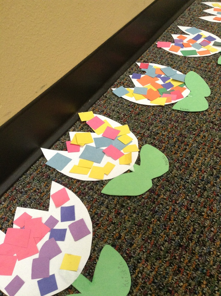 Preschool Projects Ideas  Spring craft for toddlers