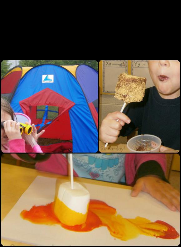 Preschool Projects Ideas  Preschool Camping Activities on Pinterest