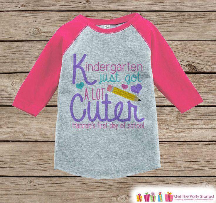 Preschool Shirt Ideas  17 Best ideas about Preschool First Day on Pinterest