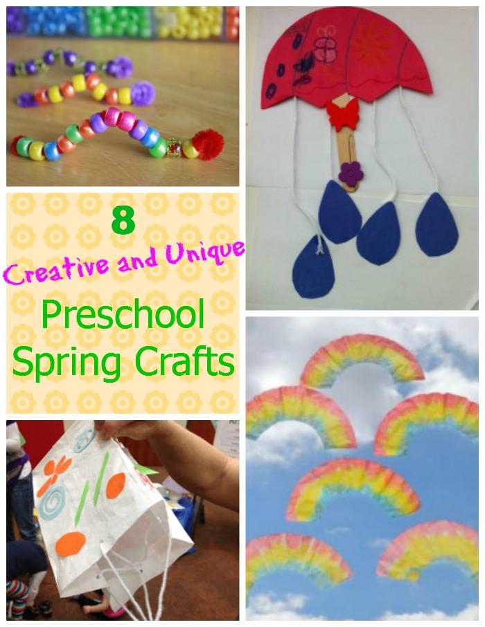 Preschool Spring Crafts Ideas  8 Creative and Unique Preschool Spring Crafts How Wee Learn