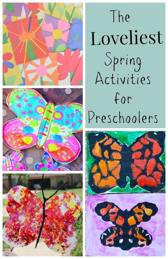 Preschool Spring Crafts Ideas  The Loveliest Spring Activities for Preschoolers How