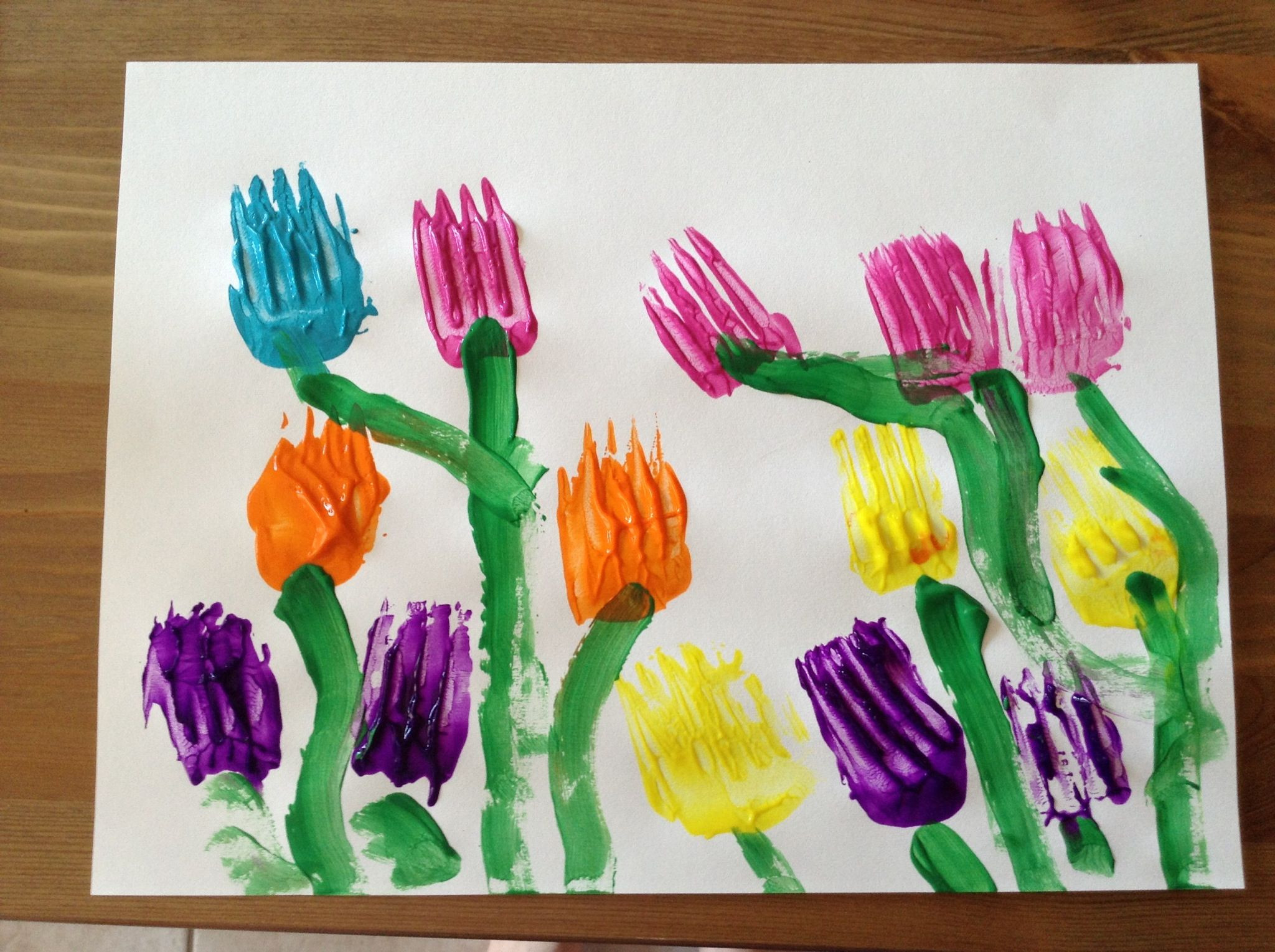 Preschool Spring Crafts Ideas  Garden Craft Time Kids crafts