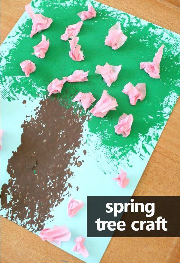 Preschool Spring Crafts Ideas  Best 25 Spring crafts ideas on Pinterest