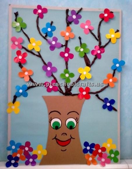 Preschool Spring Crafts Ideas  preschool spring crafts Preschool Crafts