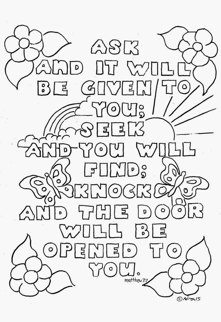 Printable Bible Coloring Pages For Toddlers?Trackid=Sp-006  Top 10 Free Printable Bible Verse Coloring Pages line