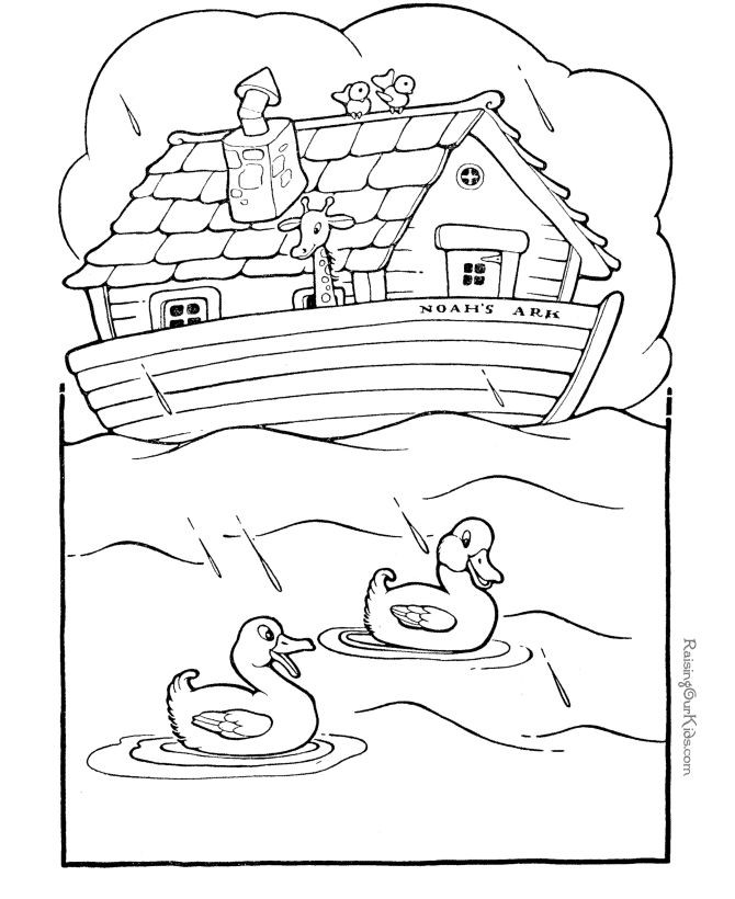 Printable Bible Coloring Pages For Toddlers?Trackid=Sp-006  Free printable Noah s Ark Bible coloring pages