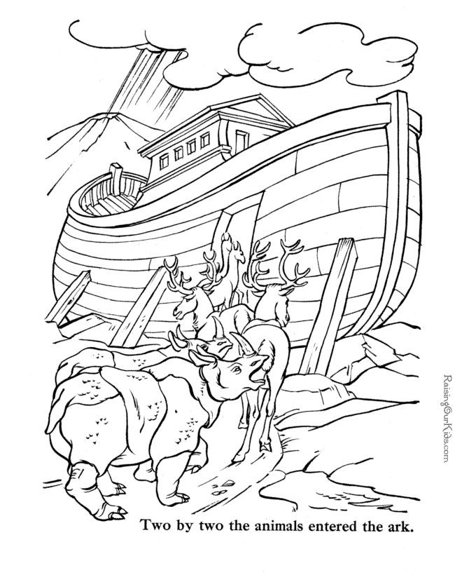 Printable Bible Coloring Pages For Toddlers?Trackid=Sp-006  Free Bible coloring pages to print Noah
