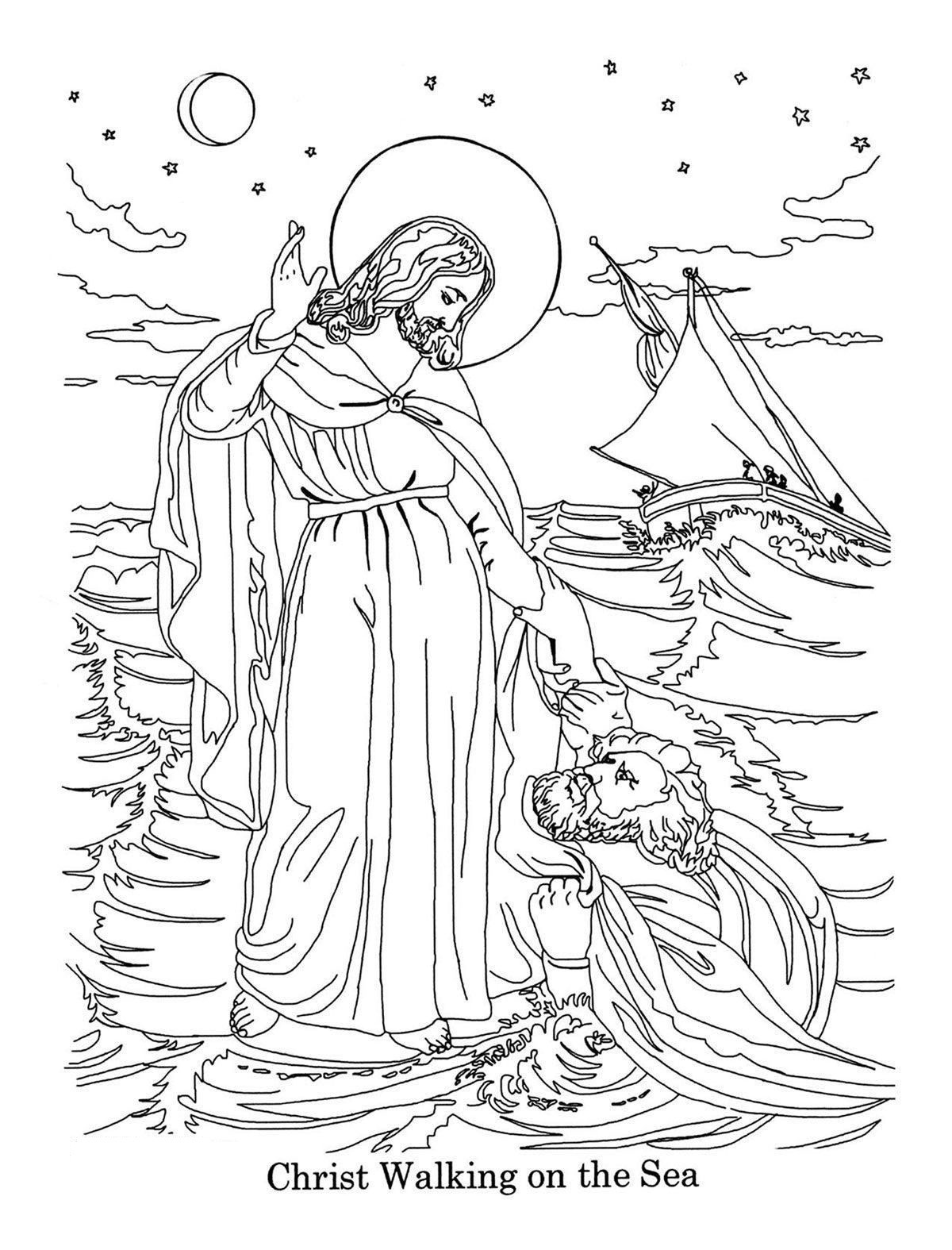 Printable Bible Coloring Pages For Toddlers?Trackid=Sp-006  Bible Coloring Pages