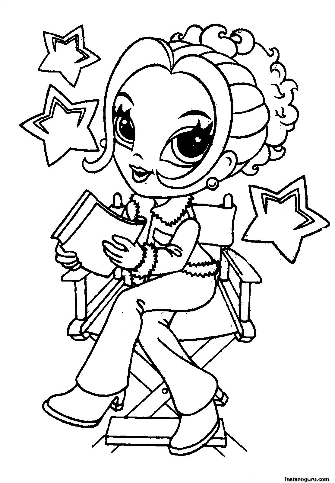 Printable Coloring Sheets For Girls  coloring pages for girls 10 and up