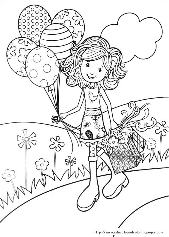 Printable Coloring Sheets For Girls  Groovy Girls Coloring Pages free For Kids