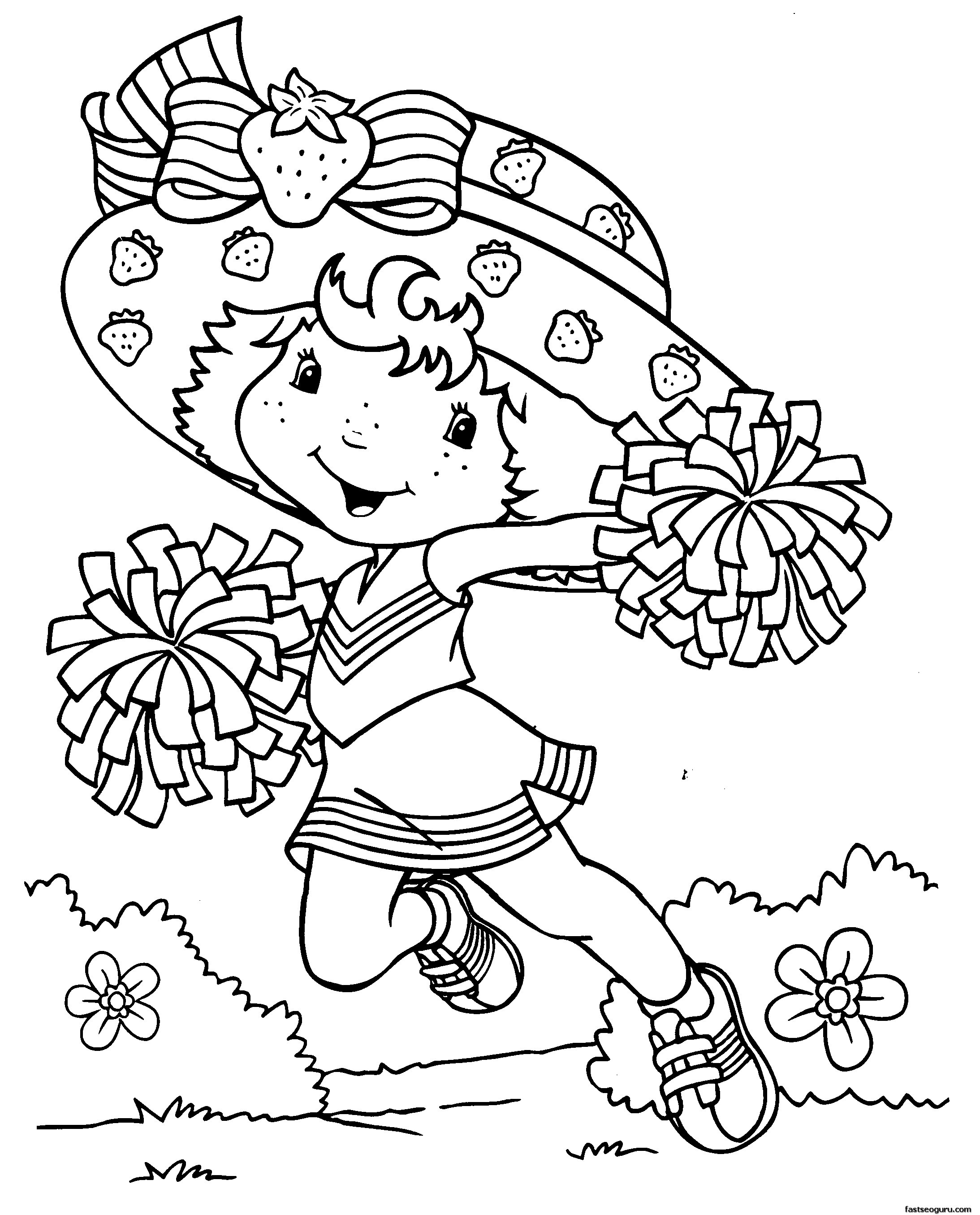 Printable Coloring Sheets For Girls  Coloring Pages for Girls Dr Odd