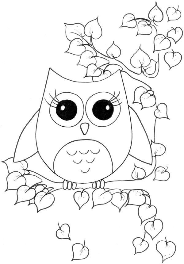 Printable Coloring Sheets For Girls  Cute girl coloring pages to and print for free