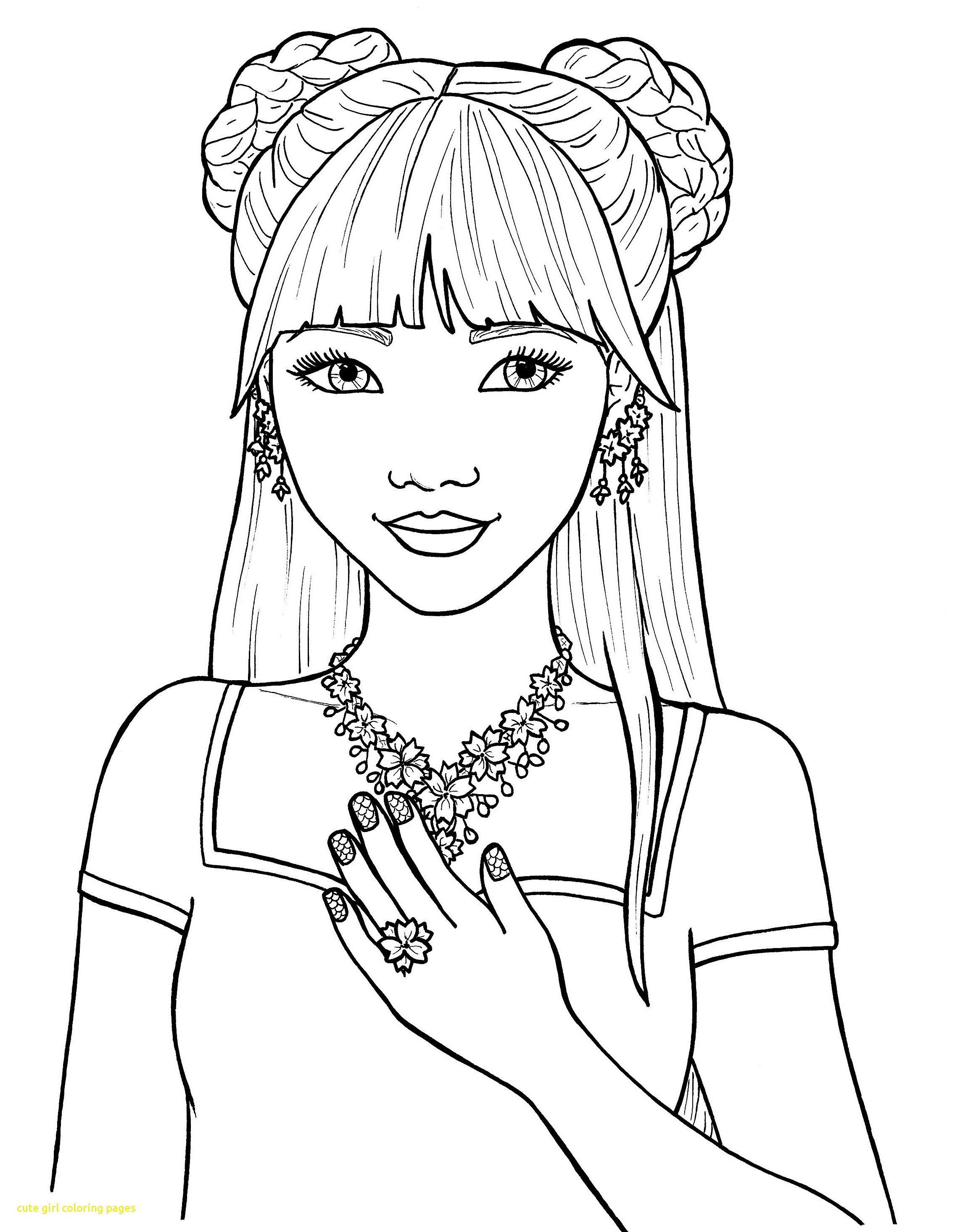 Printable Coloring Sheets For Girls  Coloring Pages for Girls Best Coloring Pages For Kids