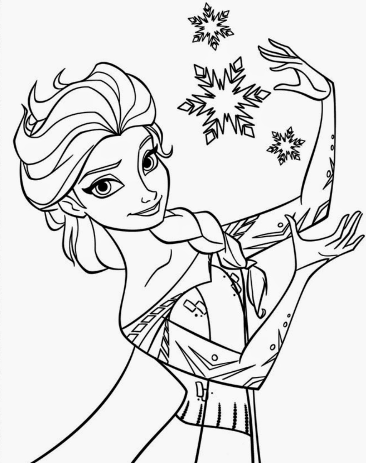 Printable Disney Coloring Pages  15 Beautiful Disney Frozen Coloring Pages Free Instant