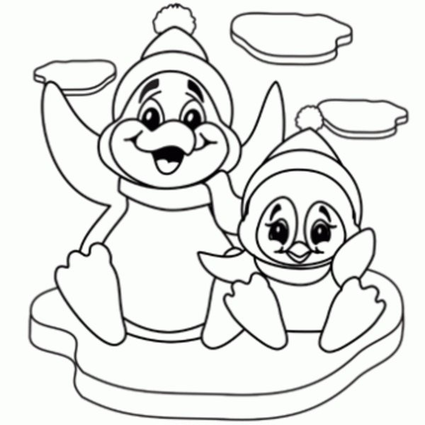 Printable Penguin Coloring Pages  Penguins coloring pages to and print for free