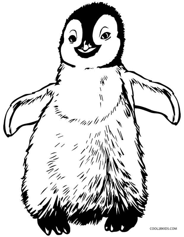Printable Penguin Coloring Pages  Printable Penguin Coloring Pages For Kids