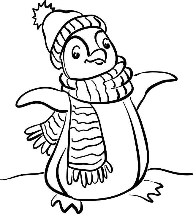 Printable Penguin Coloring Pages  Free Printable Penguin Coloring Pages For Kids
