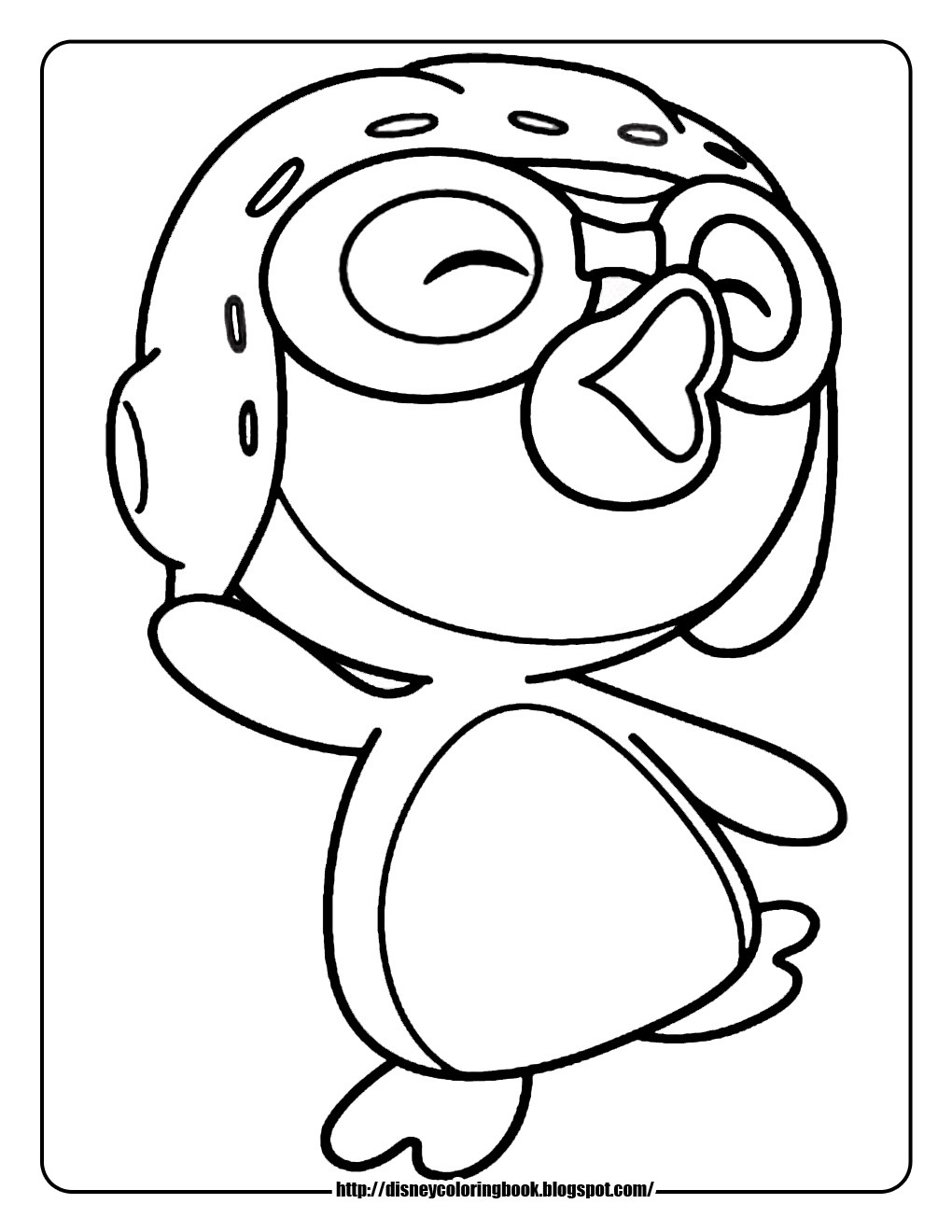Printable Penguin Coloring Pages  Penguin Coloring Pages