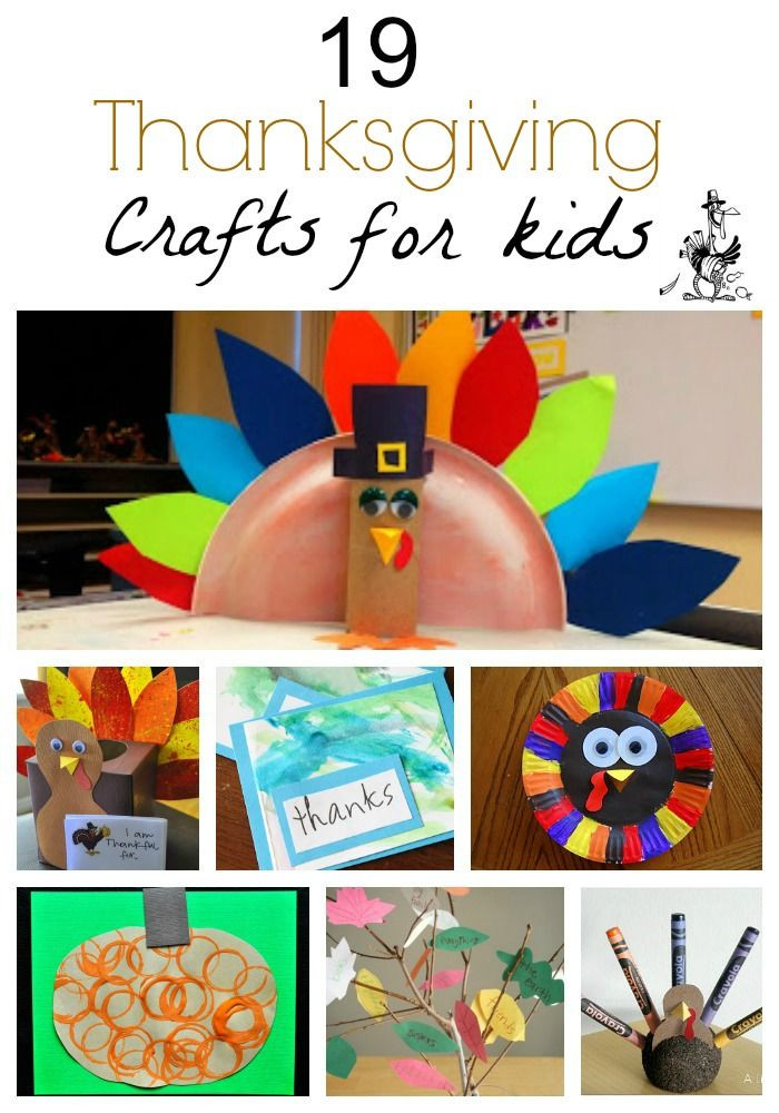 Quick And Easy Crafts For Kids  19 Quick and Easy Thanksgiving Crafts For Kids Love the