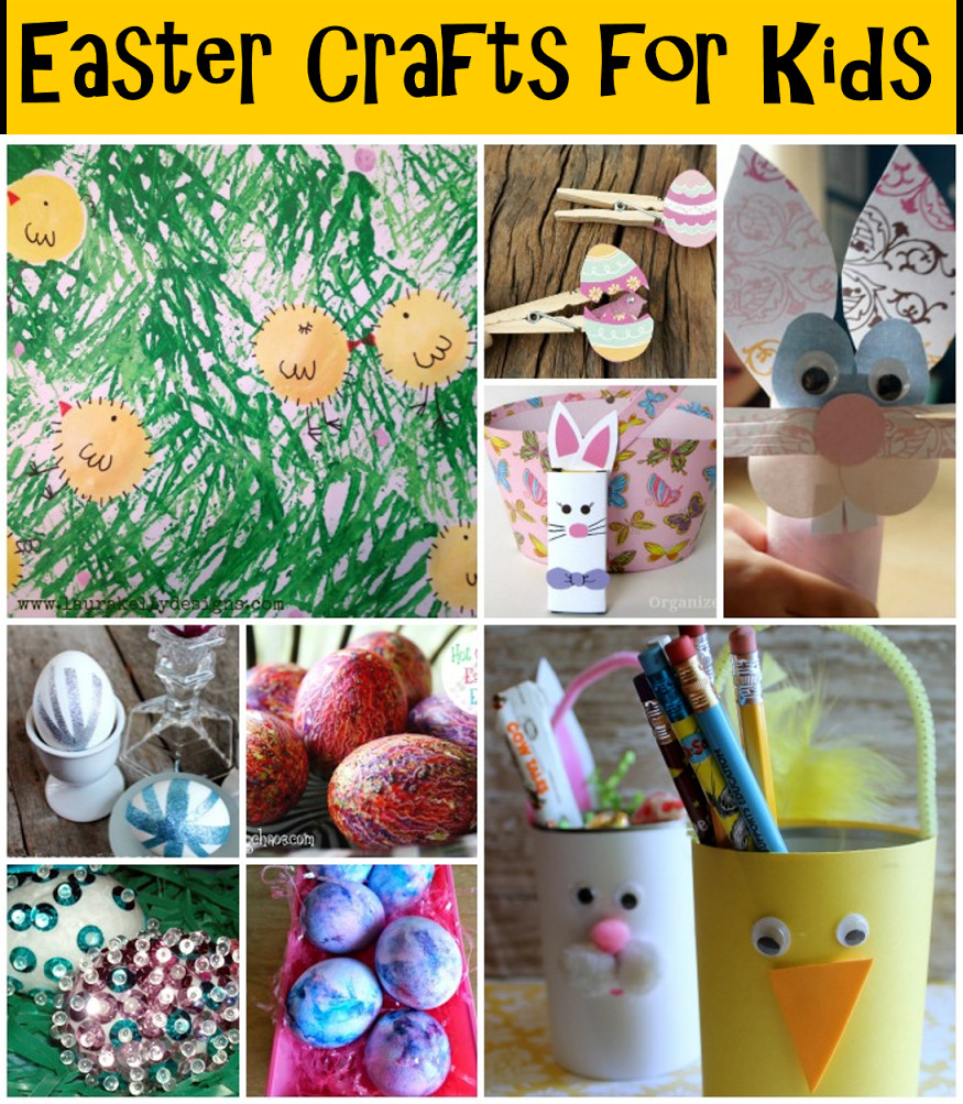 Quick And Easy Crafts For Kids  25 Quick and Easy Easter Crafts for Kids Rural Mom