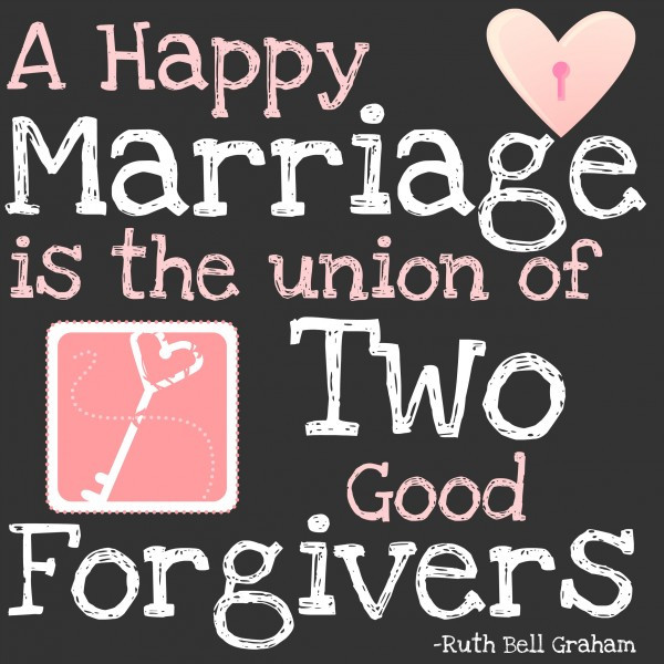 Quote About Happy Marriage  The Key to a Good Marriage Free Printable Kristen Welch