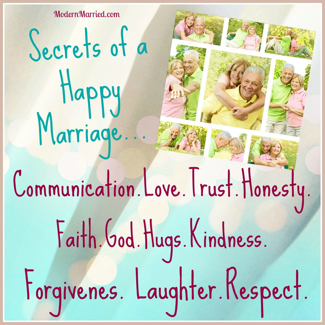 Quote About Happy Marriage  25 Secrets to a Happy Marriage