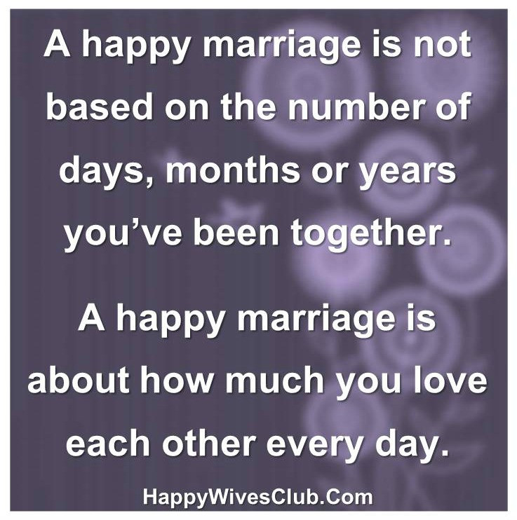Quote About Happy Marriage  Happily Married Quotes QuotesGram