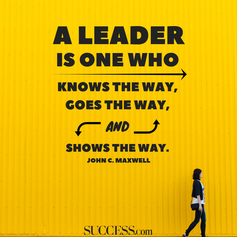 Quote On Great Leadership  10 Powerful Quotes on Leadership