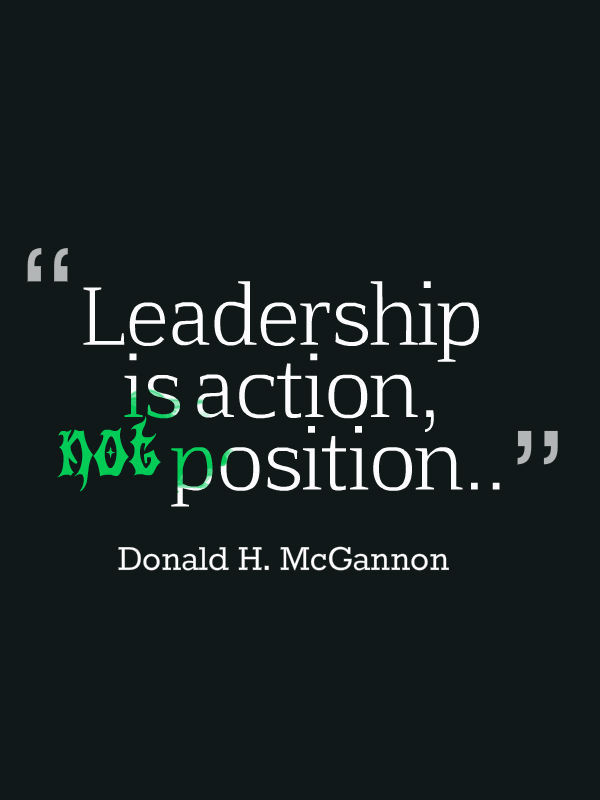 Quote On Great Leadership  75 Leadership Quotes Sayings about Leaders