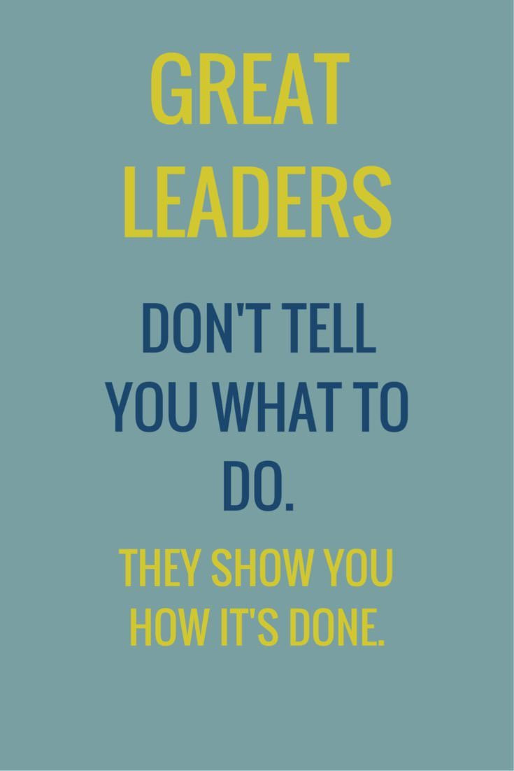 Quote On Great Leadership  Leadership Quotes
