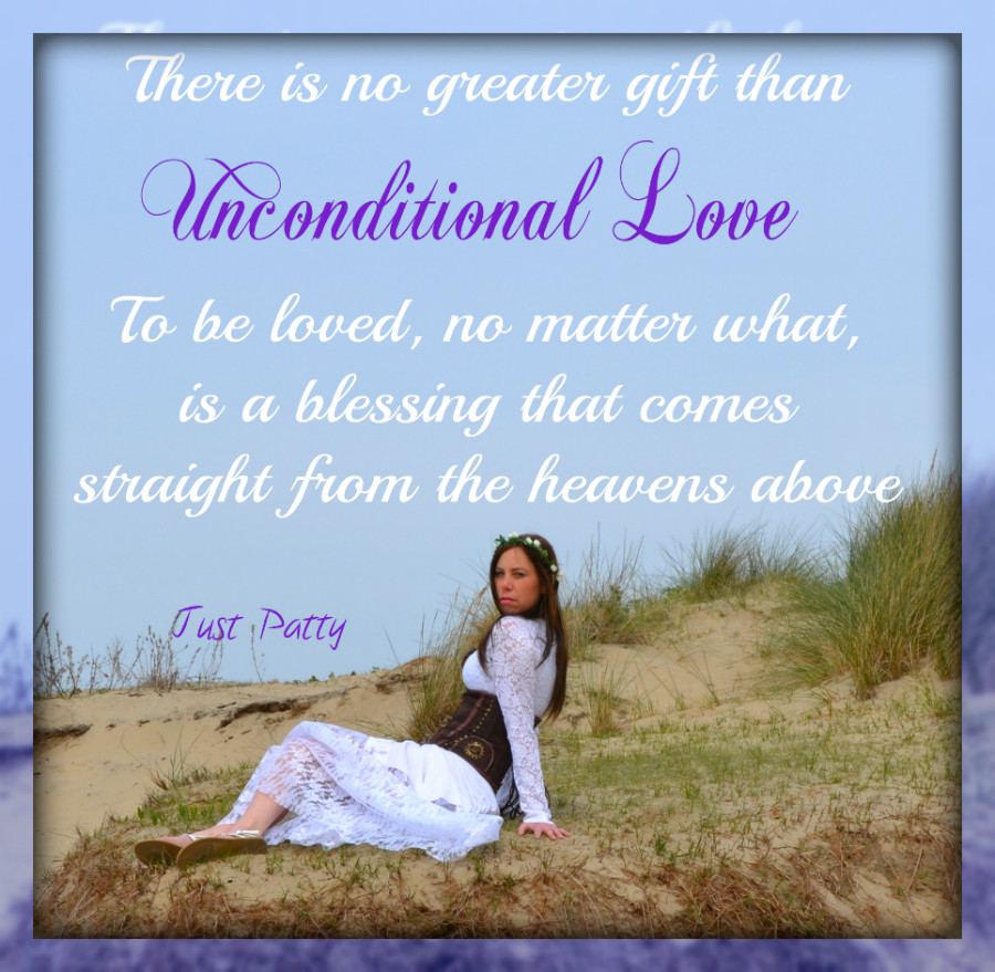 Quote Unconditional Love  saying