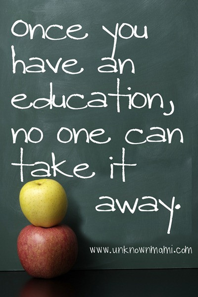Quotes About Education Importance  Why is Education Important WaveForChange – Unknown Mami