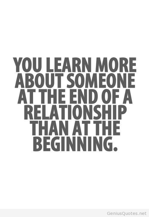 Quotes About Relationships Ending  62 Top Quotes And Sayings About Ending