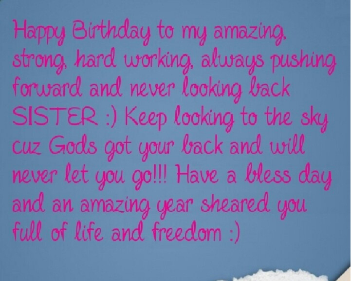 Quotes For A Sister Birthday  Happy Birthday quotes for Sister ts images This Blog
