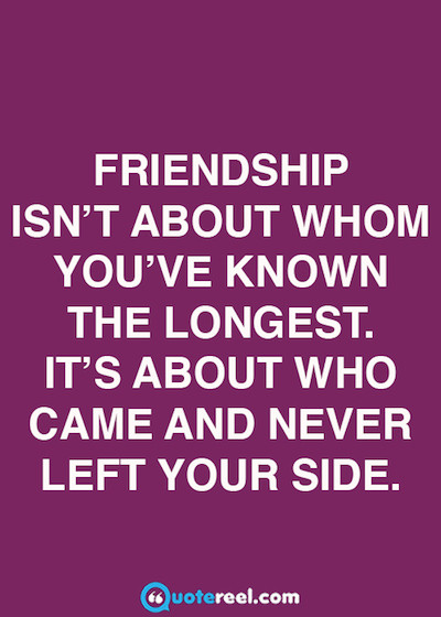 Quotes For Good Friendship  21 Quotes About Friendship QuoteReel