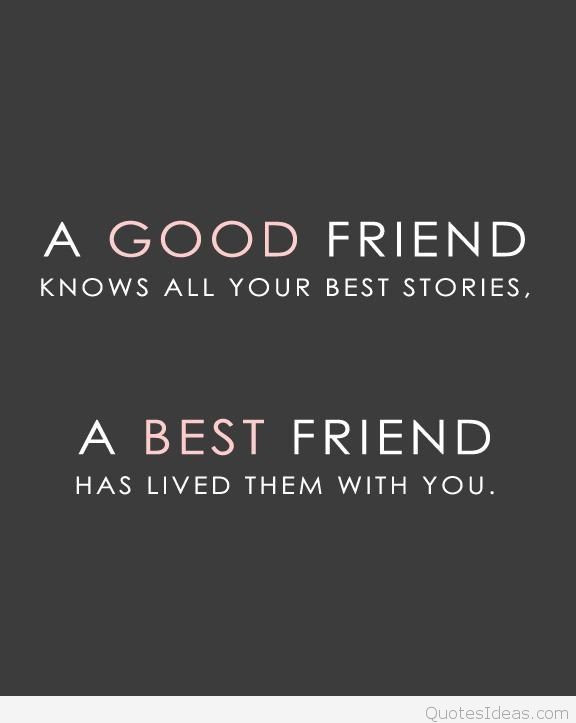 Quotes For Good Friendship  Dear Best friend love me tumblr quote