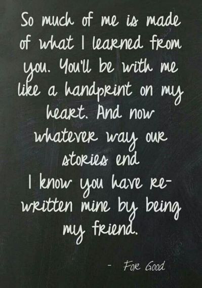 Quotes For Good Friendship  Wicked For Good Friendship quote Quotes