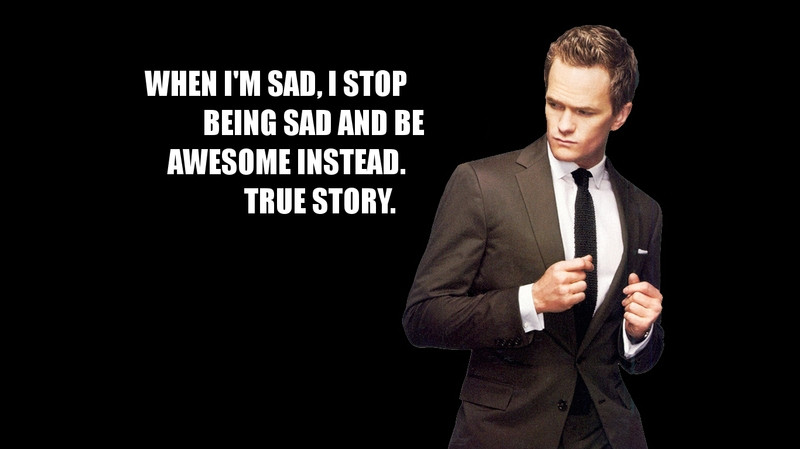 Quotes From How I Met Your Mother  Less of Me