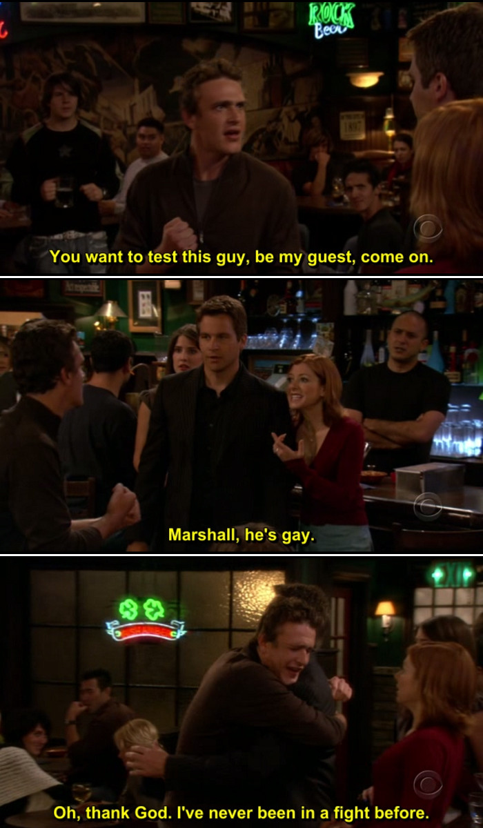 """Quotes From How I Met Your Mother  HIMYM review Season 1 Episode 3 """"The Sweet Taste of"""