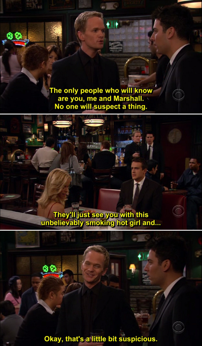 Quotes From How I Met Your Mother  How I Met Your Mother Funny Quotes QuotesGram