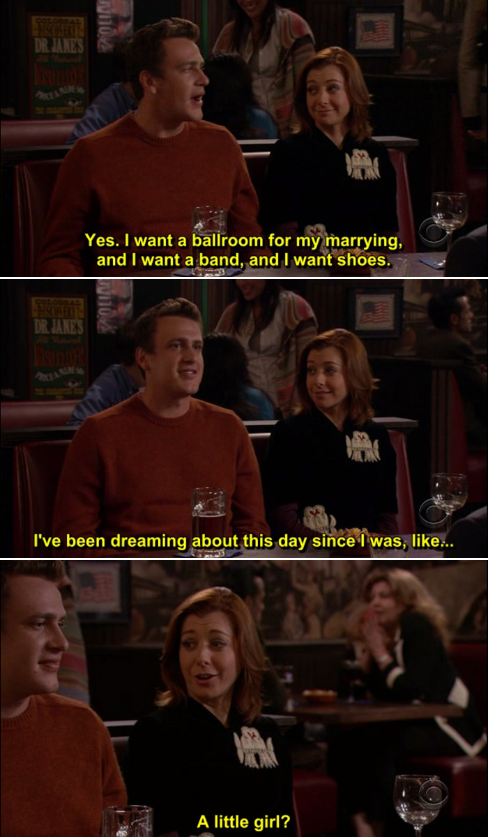 Quotes From How I Met Your Mother  Himym Lily Quotes QuotesGram