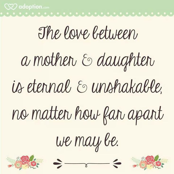 Quotes From Mother To Daughter  17 Best Mother Daughter Quotes on Pinterest