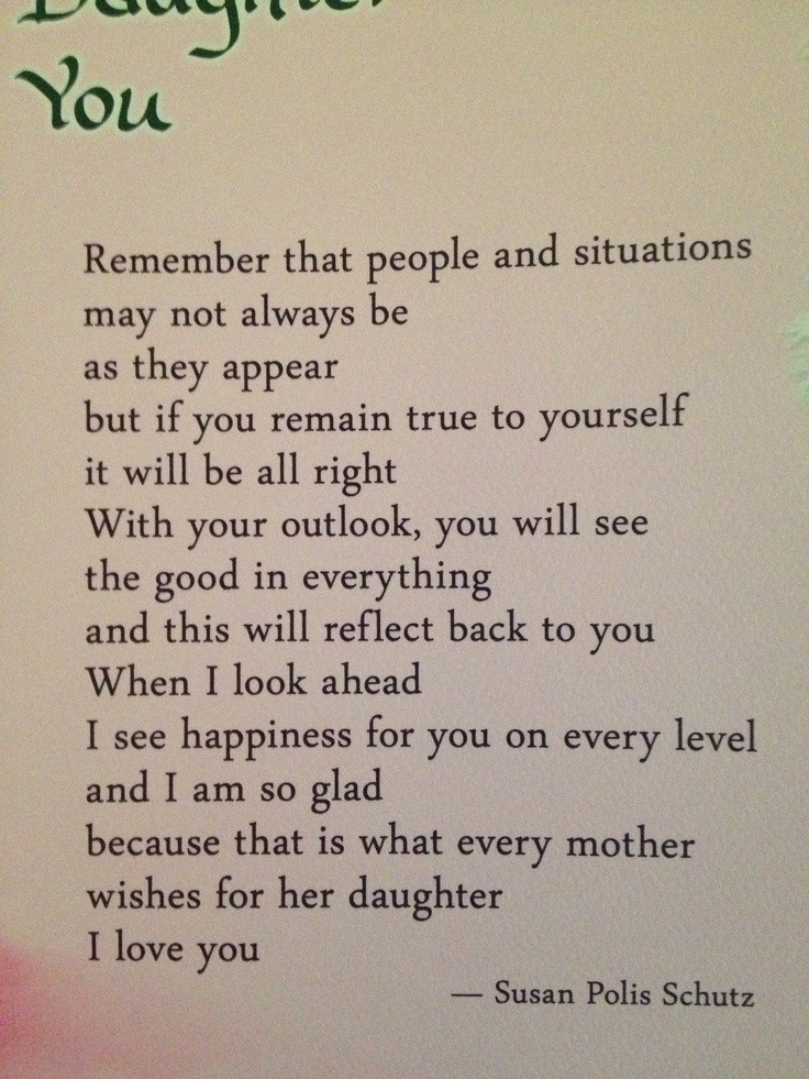 Quotes From Mother To Daughter  Daughter Quotes And Sayings QuotesGram