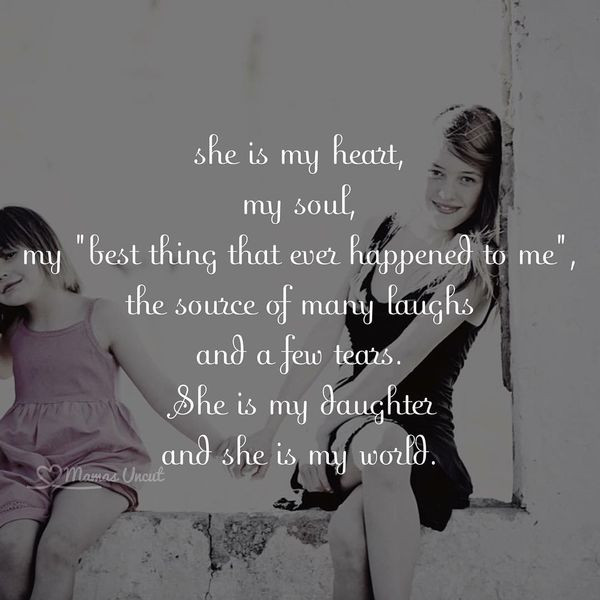 Quotes From Mother To Daughter  100 Inspiring Mother Daughter Quotes