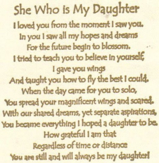 Quotes From Mother To Daughter  Quotes About Mother Daughter Relationships