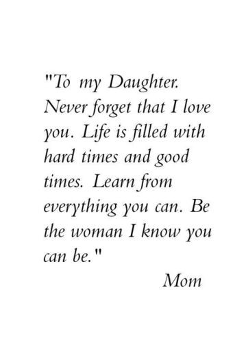 Quotes From Mother To Daughter  Beautiful Mother Daughter Quotes Short & Cute [ plete