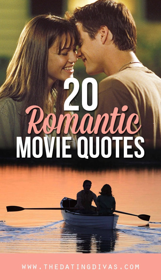 Quotes From Romantic Movies  101 Romantic Love Quotes From The Dating Divas