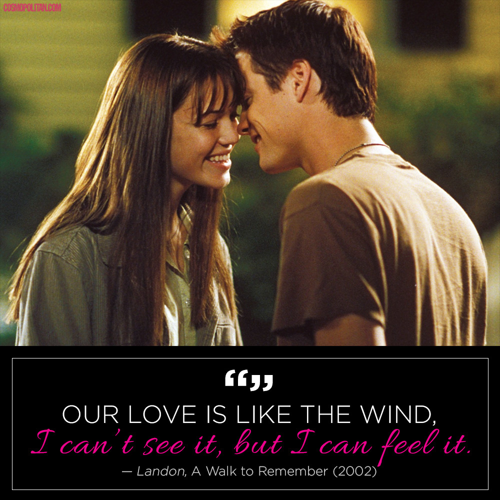Quotes From Romantic Movies  15 Crazy Romantic Quotes From TV and Movies