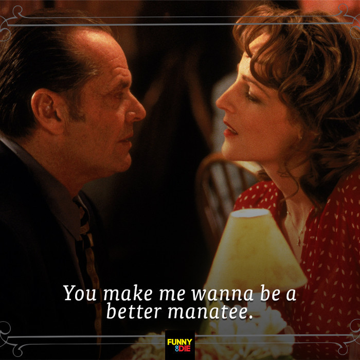 Quotes From Romantic Movies  9 Less Romantic Movie Lines from Funny Die